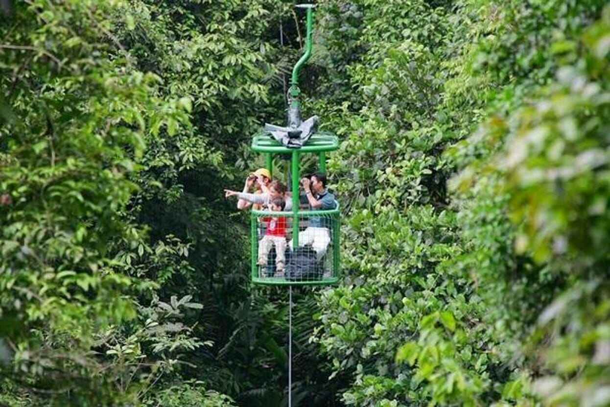 Aerial Tram Tour en