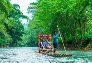 Bamboo rafting experience. Things to do in Jamaica