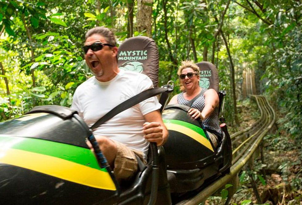 Bobsled at Mystic Mountain Jamaica