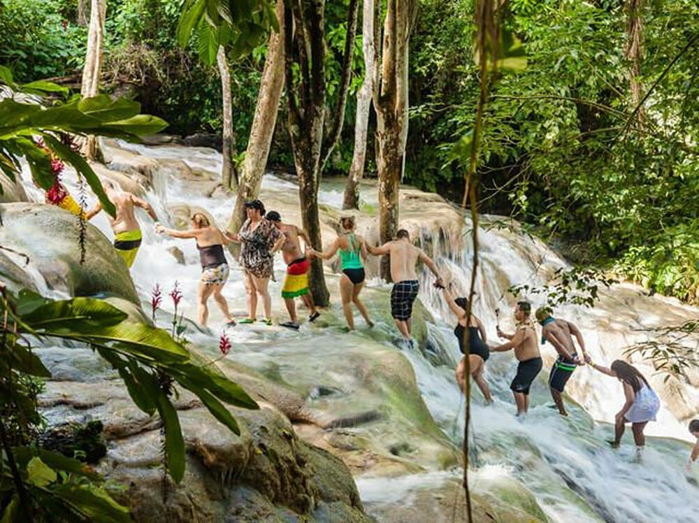 Bobsled and Dunn's River Falls