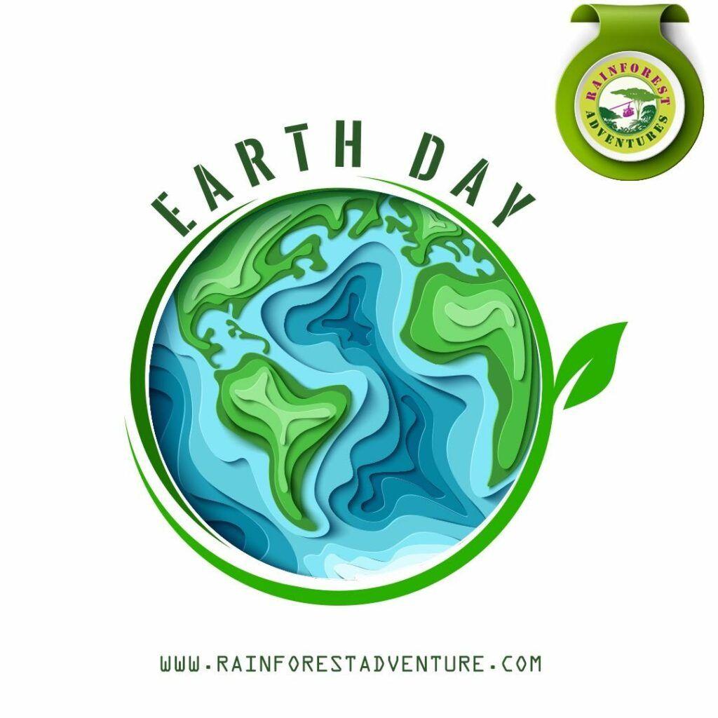 Rainforest adventure earth day