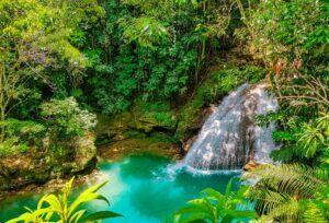 the hidden gem of Jamaica the blue hole