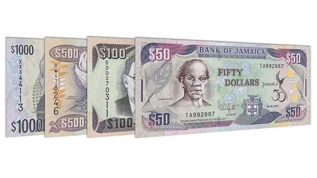 Currency in Jamaica