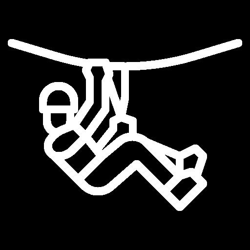 Zip Line Icon