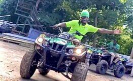 Electric ATV at Mystic Mountain Jamaica