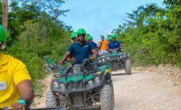 ATV dirty bike Jamaica Mystic Mountain