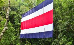 Bandera del turismo Costa Rica