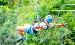 Adaventure Park in Costa Rica Jaco Beach zipline