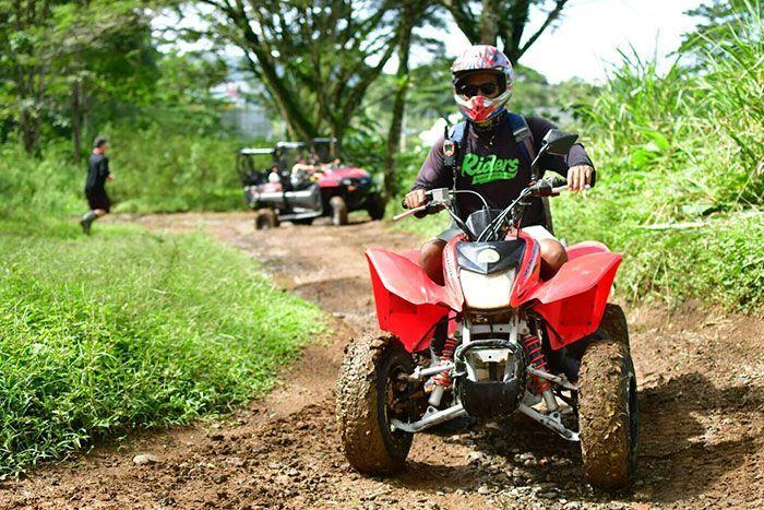 ATV Ride Jaco beach
