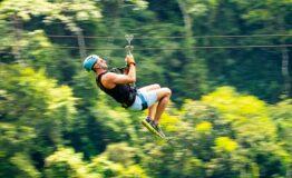 Canopy zipline Jaco beach Costa Rica