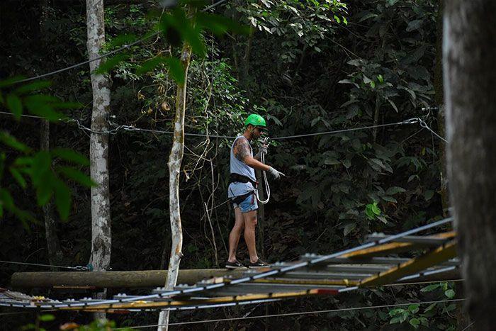 High ropes course Jaco Costa Rica