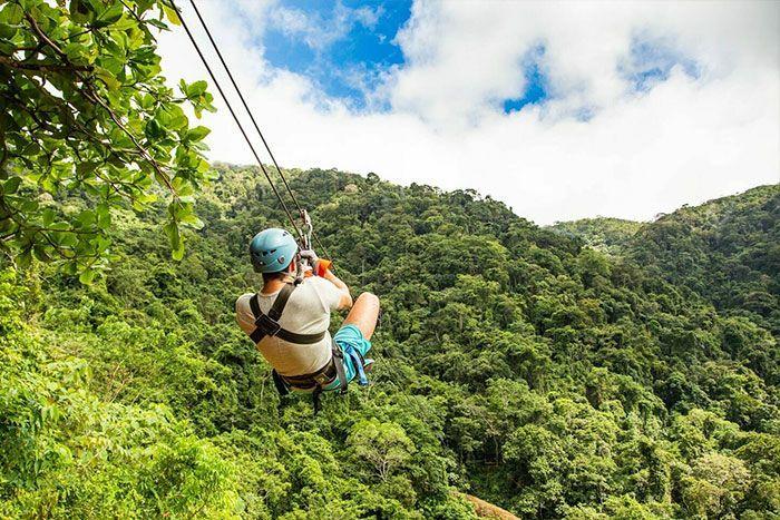 Zip line adrenaline Costa Rica
