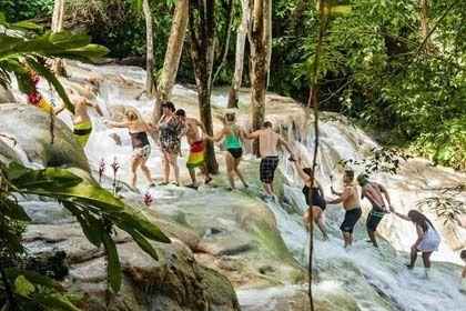 Dunn´s river falls Jamaica Mystic Mountain