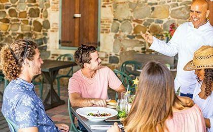 Restaurant & Bar Rainforest Adventures St Maarten