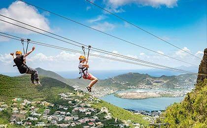 St Maarten Sentry Hill Zip Line